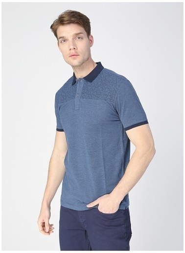 Pierre Cardin Pierre Cardin Erkek Lacivert T-Shirt Lacivert
